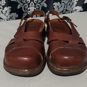 Womens Dansko Wedge Sandals 38